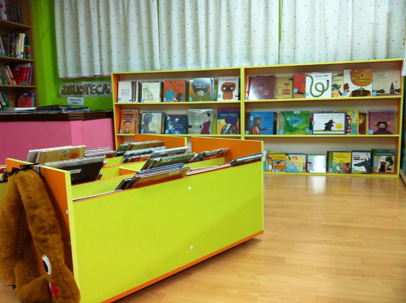 Biblioteca escolar do CEIP Virxe do Mar (Narón, A Coruña)